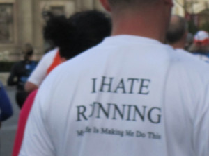 Running Quotes Funny On T Shirts I saw a lot of funny t-shirts!