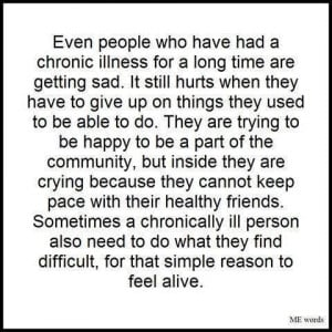 inspirational quotes for chronic pain | Even people with chronic ...