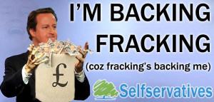 David Cameron has handed a huge tax break to fracking company ...