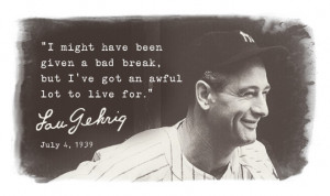Lou Gehrig and the Ice Bucket Challange