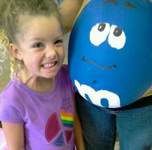 ... paints from hobby lobby it was so much fun my daughter even helped