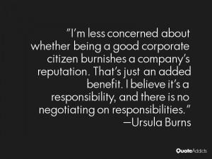 Ursula Burns Quotes