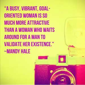 Busy, Vibrant, Goal-oriented Woman