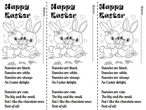 here are 3 easter poems i teach my students at easter time