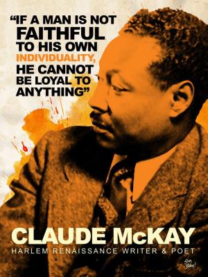 Claude McKay #BlackHistoryMonth Tribute Design (2/9/12)