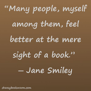 Jane Smiley quote
