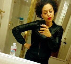 Tia Mowry Natural Hair 2014