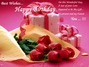 ... With Rose Flowers Alt=quotbirthday Happy Nice Quotes Sayings For