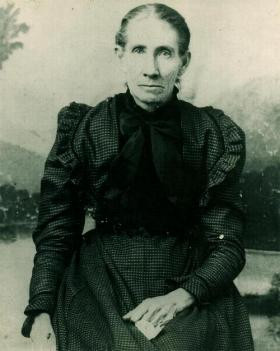 Martha Ann Wright Rutherford wife of Thomas Franklin Rutherford