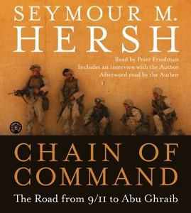 BOOK AUDIOBOOK CD Seymour Hersh Iraq War Reporting CHAIN OF COMMAND
