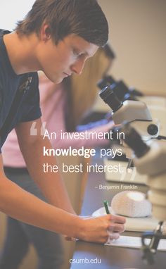 """An investment in knowledge pays the best interest.""""― Benjamin ..."""