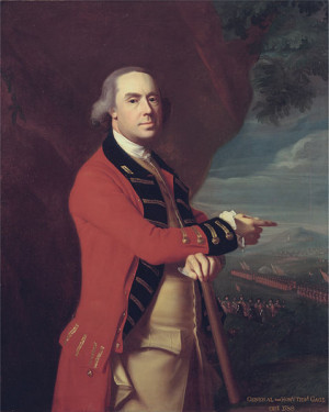 General Thomas Gage, oil painting by John Singleton Copley circa 1788