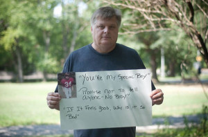21 Male Sexual Assault Survivors Quoting Their Attackers