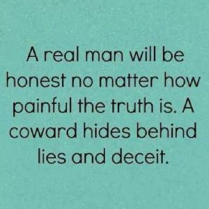 Honesty vs lies and deceit