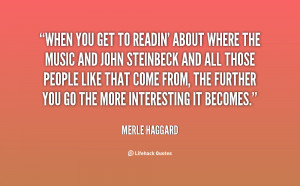 Merle Haggard Quotes