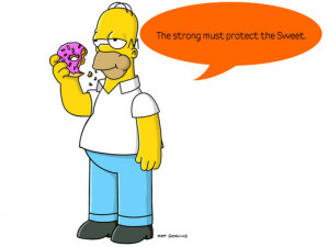 homer simpsons quotes life