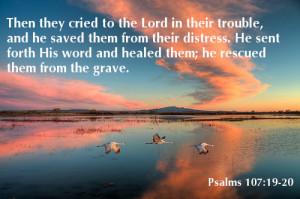 Bible Verse on Distress