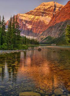 Alberta - Morning Breeze by Matt Champlin Mount Edith Cavell, Jasper ...