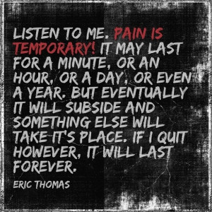 Motivational Speech By Eric Thomas, Pain is Temporary
