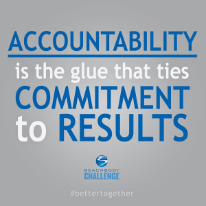 So…let's talk about Accountability.