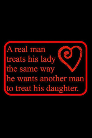 Real Men Quotes and Sayings   real man!