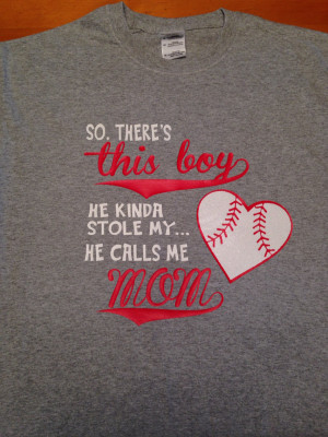 Baseball Mom T Shirt Sayings