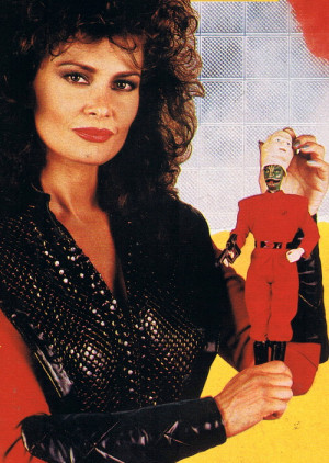 Jane Badler V
