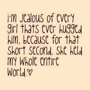 Funny Quotes About Love And Jealousy: Jealous Love Quotes For Girls ...