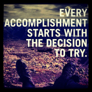 quote ~ 1/15/14 Today I'm grateful for being able to accomplish ...