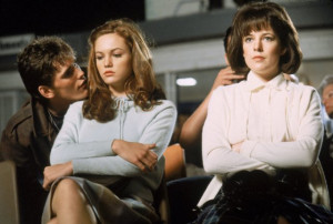 ... Diane Lane, Matt Dillon and Michelle Meyrink in The Outsiders (1983