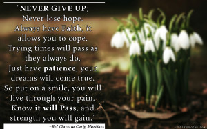 Patience Quotes HD Wallpaper 13