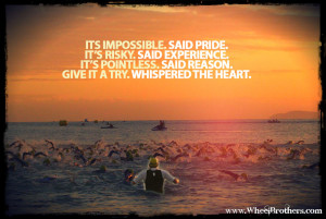 Its Impossible, said pride…