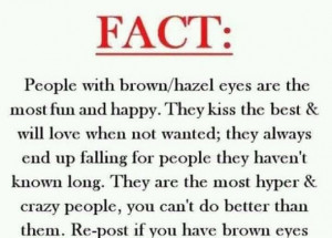 Beautiful Brown Eyes Quotes | brown eyes, fact, quotes, sayings ...