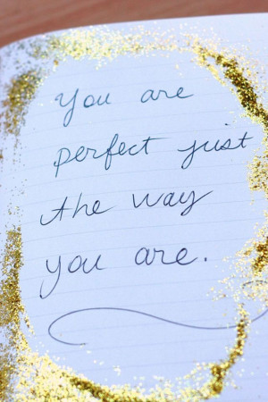 You are perfect:)