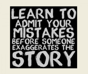 Learn, Mistake, Mistakes, Story