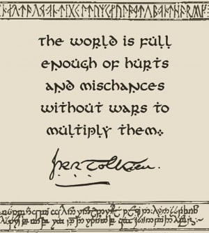 Happy Birthday J.R.R. Tolkien! #LordoftheRings #quote #Hobbit