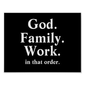 God Family Work Order Quote Print