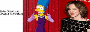Homer Simpson Voice Joan Cusack As Marge Simpsons Live Action