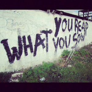 reap what you sow quotes