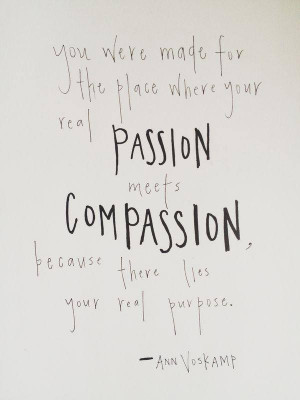Compassion – This image is from Action for Happiness , a briliant ...