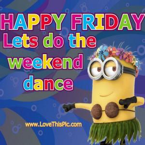 Happy Friday Minions