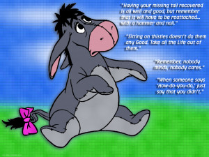 Eeyore Quotes HD Wallpaper 2