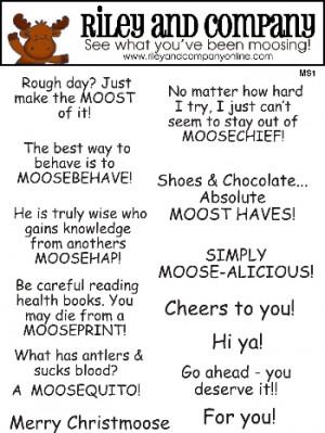 Moose Sayings 1