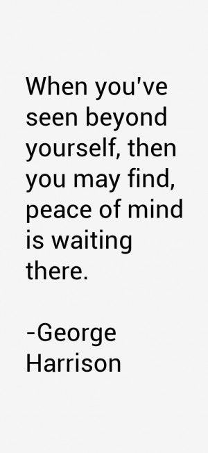 George Harrison Quotes amp Sayings