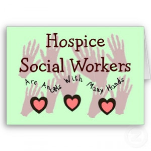 Hospice social workers @ Nia Pycior & Jessie Campbell @Annette ...