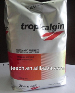 hot sale Dental materials Zhermack Tropicalgin dental stone