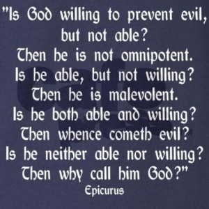 Philosopher, epicurus, quotes, sayings, god, evil, meaningful