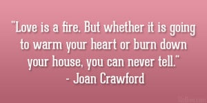 Joan Crawford Quote