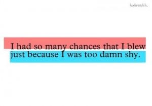 chances, hurt, like, love, quote, shy, text, textpix, thoughts ...