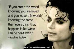 Michael Jackson life quotes
